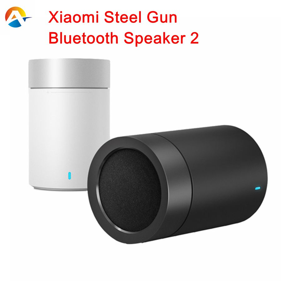 Original xiaomi speaker version 2 cannon TYMPHANY speaker 1200mah battery xiaomi bluetooth speaker 2ND PC + ABS material BT 4.1(China (Mainland))