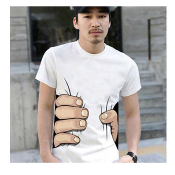 Мужская футболка Men Tees 2015 o 3D t t KH668029 мужская футболка no brand 2015 t t o 444