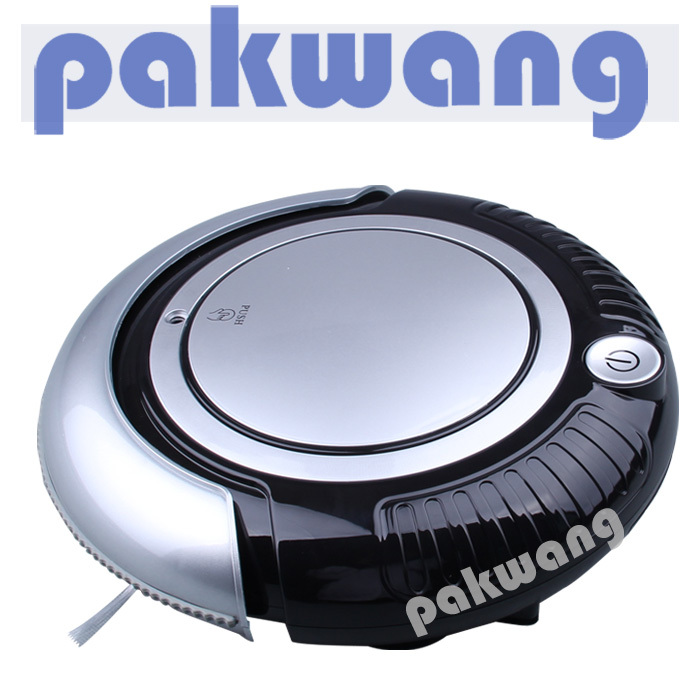 Robot Vacuum Cleaner With 3 cleaning route, HEPA fitler, big mop and one button turn on/off easy operation steam cleaner(China (Mainland))