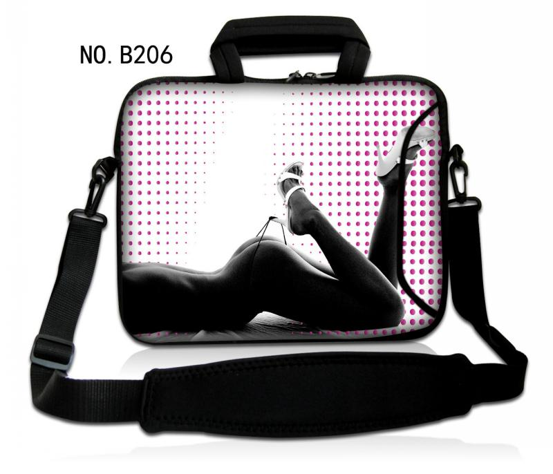 Hot Sexy Girl Laptop Notebook Shoulder Bag Case Cover Computer PC w/handle For ThinkPad HP DELL SONY Asus(China (Mainland))