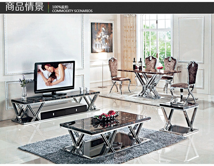 Neoclassical coffee table for living room high quality home furniture livng room(China (Mainland))