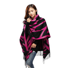 New Style Shawl Brand Tartan Design Silk Scarf 128x165cm Big Size Hijab Fashion Silk Scarves For Women