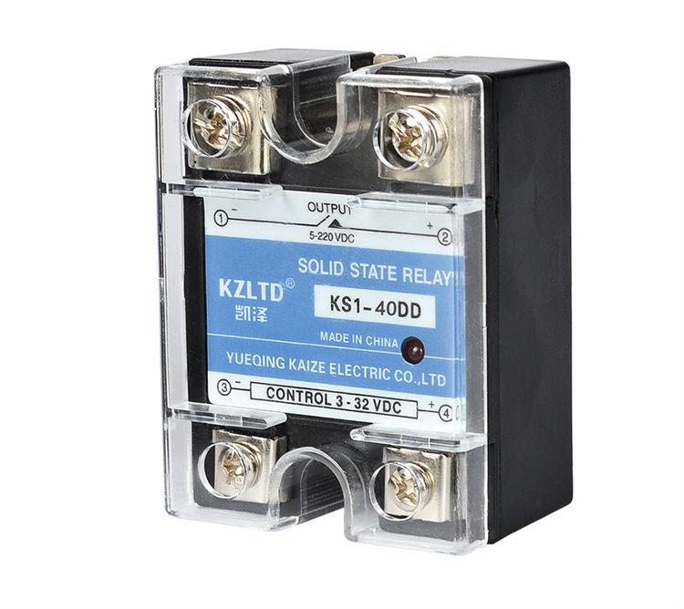 SSR-40DD 40A Solid State Relays 40A SSR 3-32V DC to 5~220V DC Relay Module for PID Temperature Controller DC - DC SSR 40A SSR-40