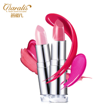 New arrival red lips strawberry powder aqua pink baby heterochrosis lip gloss lipstick cosmetics