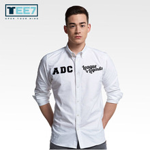 Buy Game LOL Cotton shirts Long sleeve O-neck Fashion Tops Mens Casual Clothes Yasuo ADC for $15.75 in AliExpress store