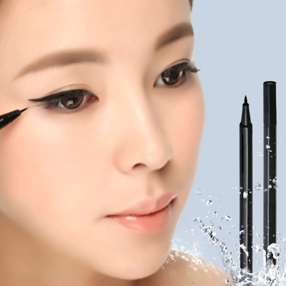 Black eye liner Cosmetics Makeup Waterproof Liquid Eyeliner Pencil - YKS-Ezsources Centre store