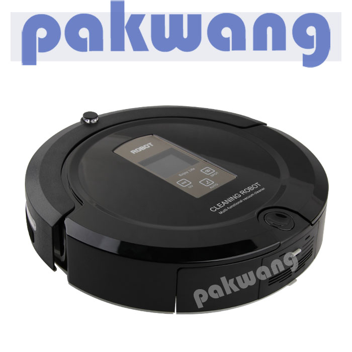 A325 household robotic vacuum with Large LCD display cleaning robot 4 in 1 mutifunctional Robot Vacuum Cleaner floor sweep(China (Mainland))