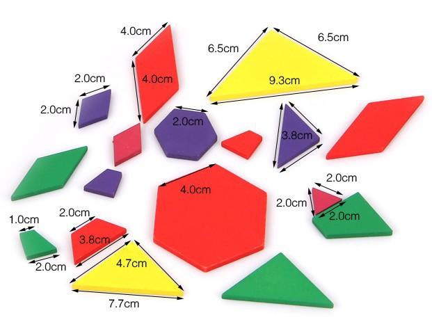 Montessori Teaching AIDS geometric figure board Wooden Toys Kids Early Development - Brand toy Flagship store