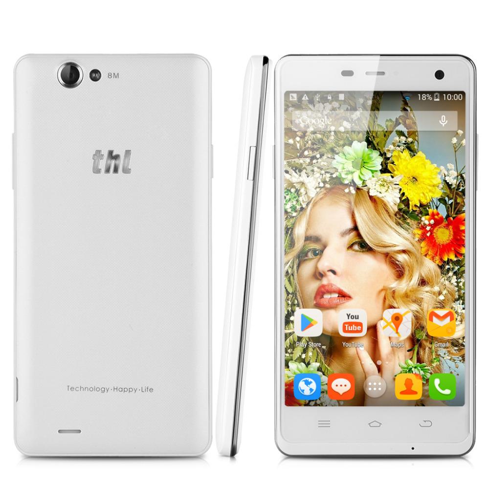 "THL 4400 Android 4.2.2 MT6582M Quad core 1.3GHz 5"" HD IPS GFF 1280*720 ROM 4GB RAM 1GB 4400mAh Power Bank OTG WIFI SmartPhone(China (Mainland))"