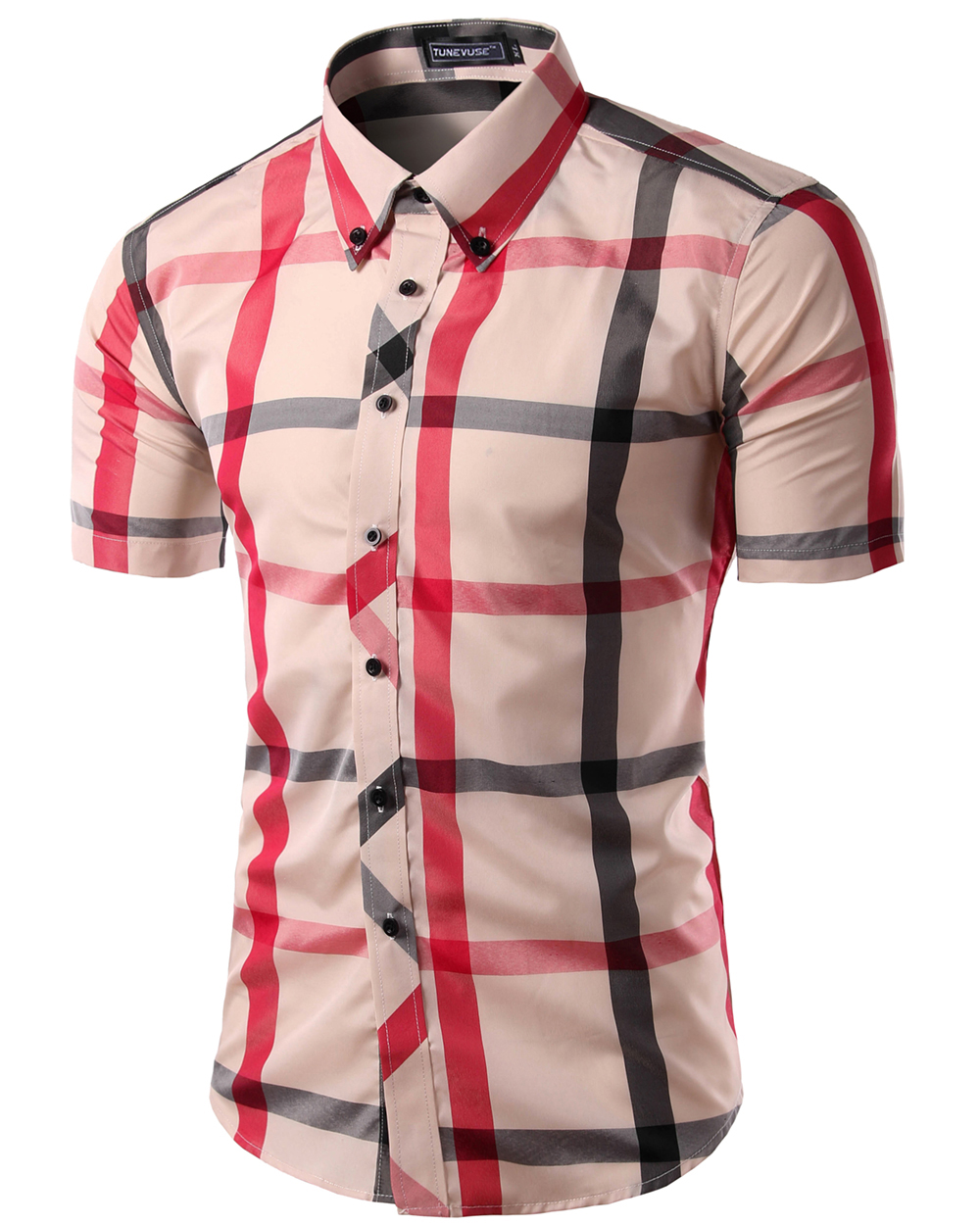 Short sleeve button up fashion 13