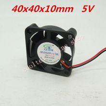 3pcs/lot 40x40x10mm 4010 fans 5 Volt Brushless DC Fans for heatsink cooler cooling radiator(China (Mainland))