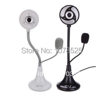 Hot sale free shipping K1 free drive Desktop PC Laptop HD video camera with microphone mic night vision(China (Mainland))
