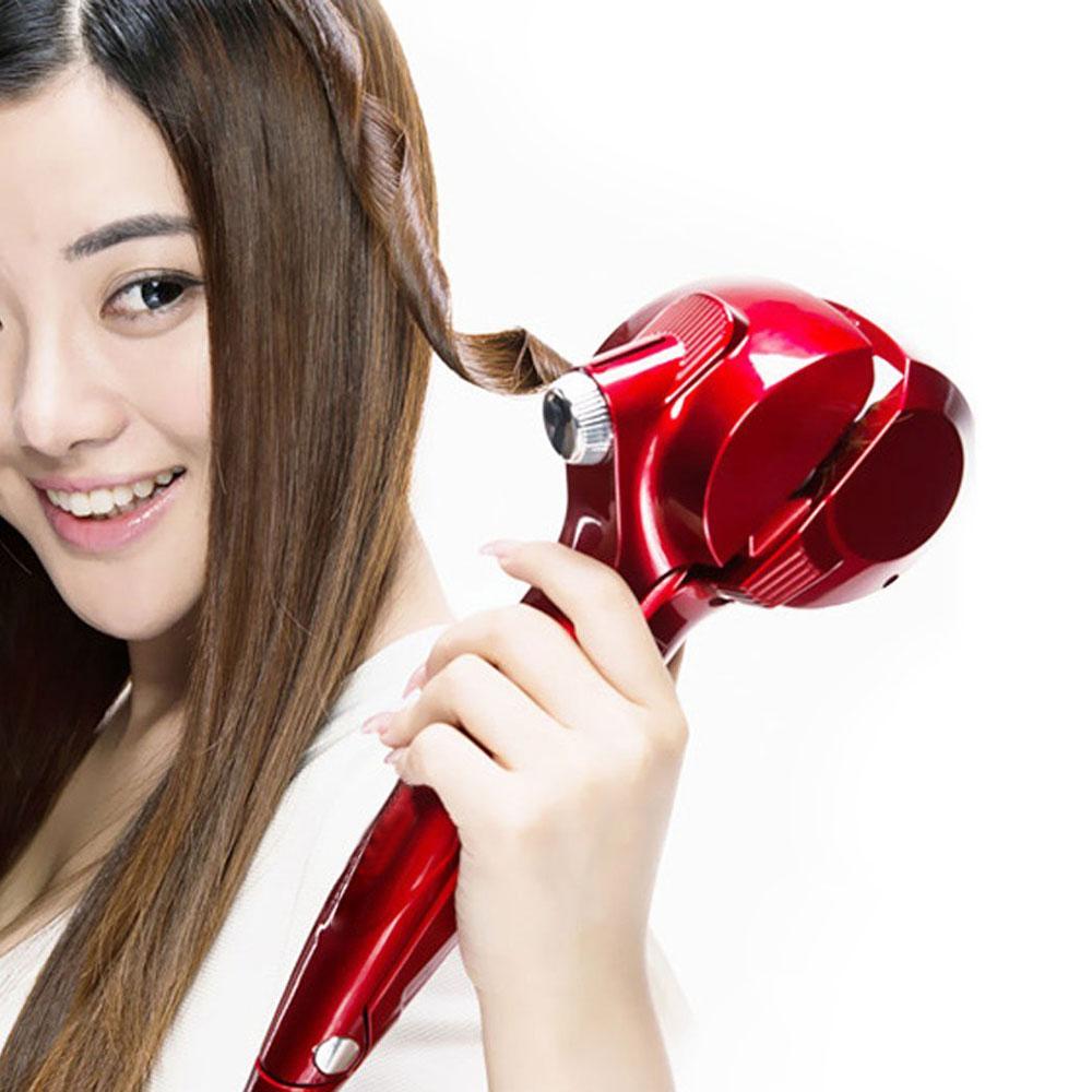 Titanium Automatic Brand Hair Curler Steam Spray Magic