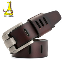 [MILUOTA] 2016 Designer Belts Men High Quality Genuine Leather Belt Luxury Man Military Style MU012(China (Mainland))