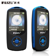 "Bluetooth Sport MP3 Music Player RUIZU X06 Wireless Lecteur with 4GB 1.8"" Screen / 100Hours High Quality Lossless Recorder FM(China (Mainland))"