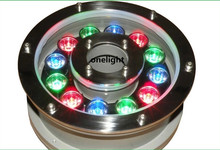 3 years warranty Free shipping IP68 RGB LED fountain light LED pool light Led underwater light 9W 12V(China (Mainland))