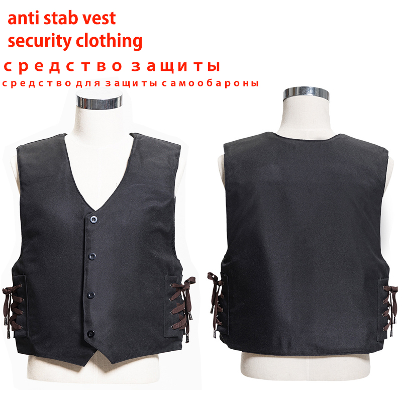 effectively block 24 joules 3 story stab resistant vest soft self-defense V-neck output TZ west E TAT ICO anti covert stab vest(China (Mainland))