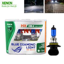 Buy XENCN HB4 9006 12V 51W 5300K Emark Blue Diamond Light Xenon Halogen Car Bulbs Xenon White Fog EMARK DOT Lamp ford mondeo for $20.22 in AliExpress store