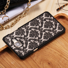 Floveme A5 2016 Henna Floral For Samsung Galaxy A5 A5100 2016 Retro Flower Pattern Case Mobile Phone Accessories Cover A5 2016