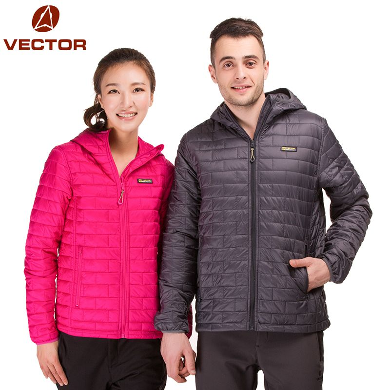 VECTOR Winter Coat Women Men Duck Down Jackets Ultra Light Down Jacket Long Sleeve Parka ultralight Waterproof Snow Jacket(China (Mainland))