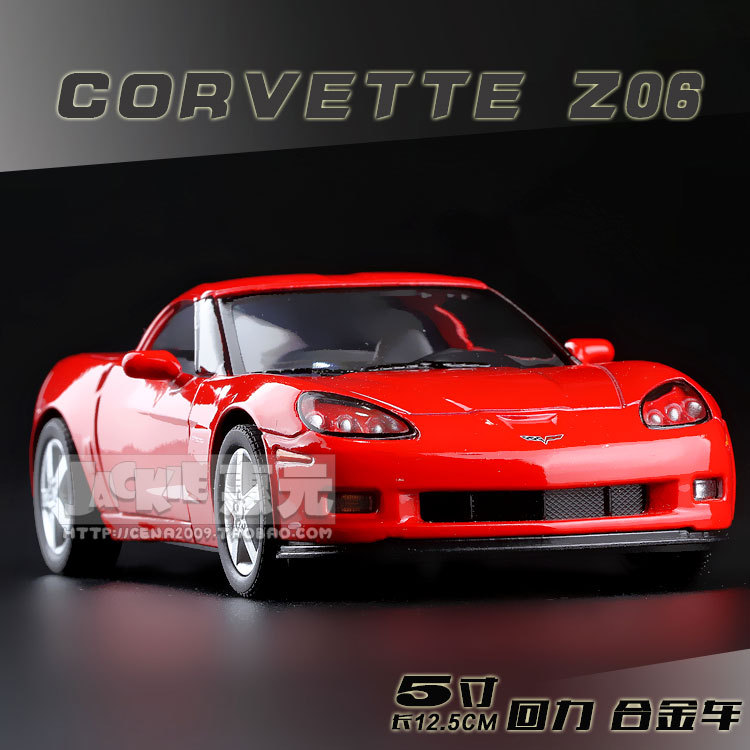 High Simulation Exquisite Baby Toys New and Original Chevrolet Corvette Z06 Model 1:36 Alloy Sports Car Model Excellent Gifts(China (Mainland))