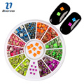 2014 New 10Pcs Mixed Colors Nail Rolls Striping Tape Line DIY Nail Art Tips Decoration Sticker Nails Care  #8802