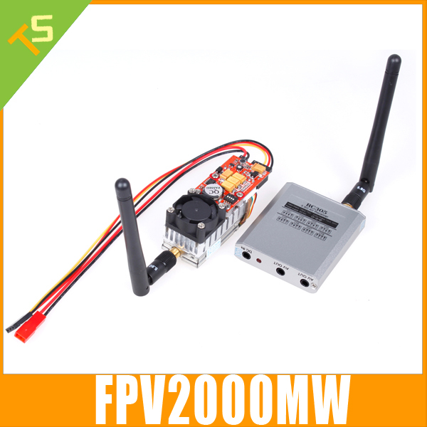 2014 New,Boscam FPV 5.8G 5.8GHz 2000mw 32 Channels Wireless AV Transmitter TX58-2W and Receiver RC58-32CH For FPV system(China (Mainland))