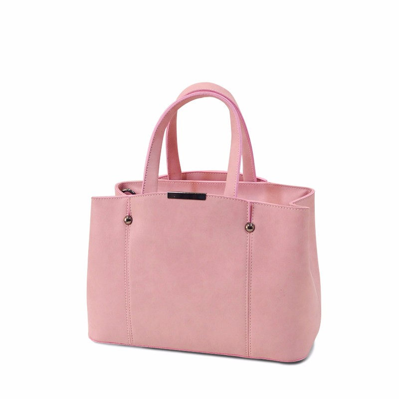Nubuck Leather Female Simple Shoulder Bag Women Fashion Plain Handbag PU Leather Ladies Black Grey Pink Crossbody Bag