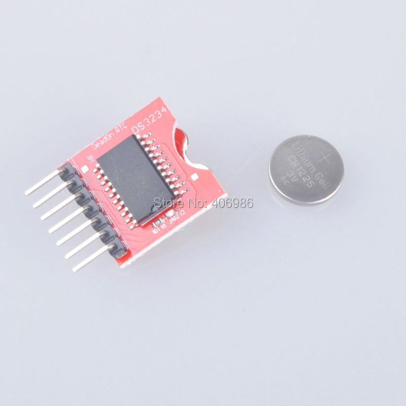 Гаджет   DS3234 Ultra-precision Real-time Clock Module for Arduino None Электронные компоненты и материалы