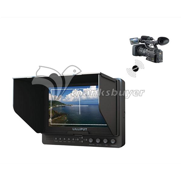 665/P/WH 7 Inch Wireless HDMI Monitor with WHDI HDMI YPbPr for FPV Photography<br><br>Aliexpress