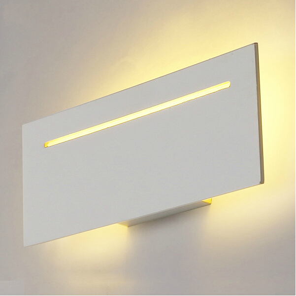 Modern led wall lights for bedroom balcony washroom Hardware+Acrylic 9W home decoration wall lamp free shipping