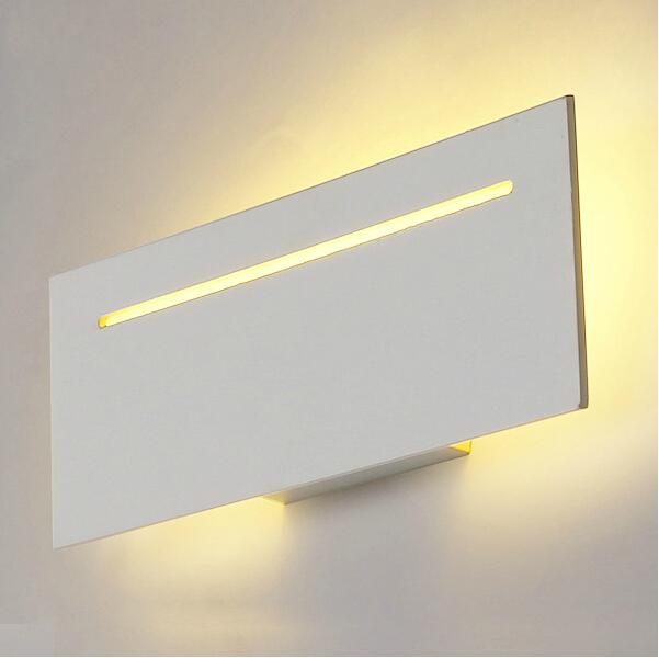 Modern led wall lights for bedroom balcony washroom Hardware+Acrylic 9W home decoration wall lamp free shipping