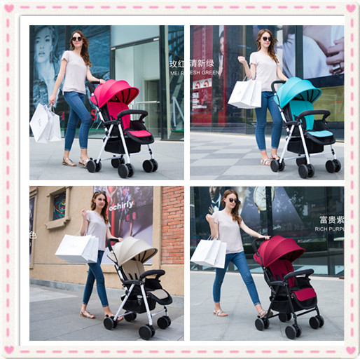 Certified Baby Products Baby Buggy Stroller With Pad 600D Oxford Fabric Kids Prams &amp; Strollers 4 Colors Infant Carriage On Sale<br><br>Aliexpress