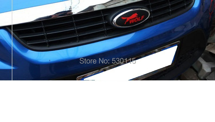 fit Ford Focus Kuga (Escape) Fiesta Fusion wolf cartoon logo stickers - YePai Automotive Ltd. store