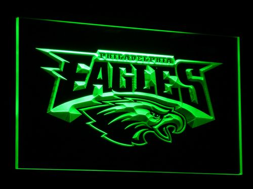 b054 Philadelphia Eagles Football LED Neon Sign with On/Off Switch 7 Colors to choose(China (Mainland))