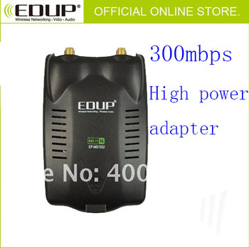 300mbps EDUP EP-MS1532 3072 Chipset Double Antenna High Power Wifi Adapter Wireless Network Card