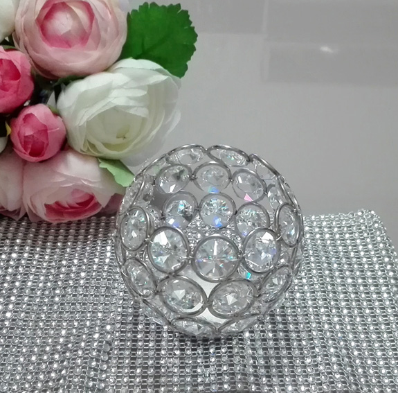 Dia8cm * H8cm Glass Crystal Votive Candle Holder, Wedding Centerpiece & Home Decoration, Free Shipping(China (Mainland))