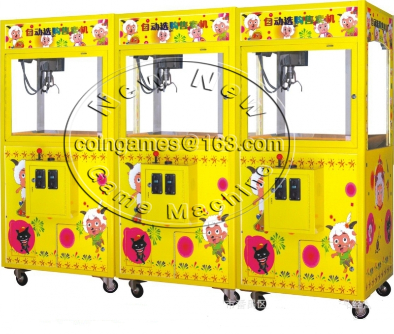 2016 New Amusement Equipment Arcade Coin Operated arcade Toy Story cranes claw machine for sale<br>