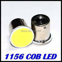 Super Bright!! 10Pieces/lot S25 1156 led COB 12SMD 1156 BA15S  P21W  Auto Car Signal Reverse Led Lights White 12V Auto Led