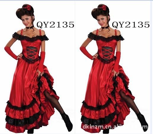 Fantasias 2014 Halloween Kigurumi Christmas Costumes Big Evening Dress Dinner Singer Stage Performance Clothing Musical Games(China (Mainland))