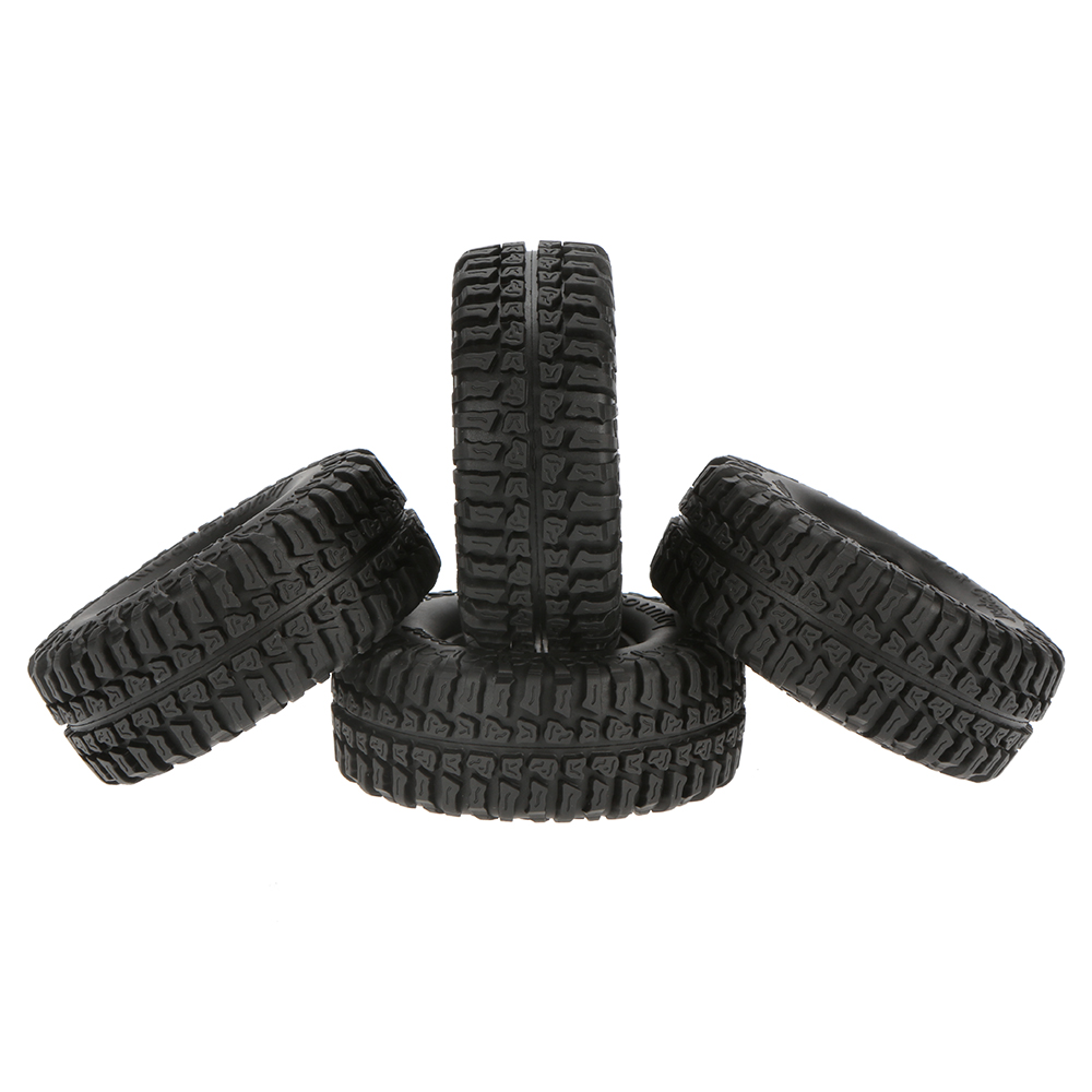 "4Pcs Austar 1.9"" 100mm 1/10 Scale Tires for 1/10 RC4WD D90 Axial SCX10 RC Rock Crawler Parts(China (Mainland))"