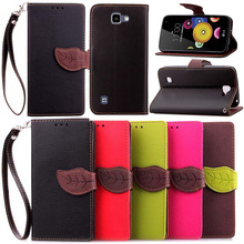"""Buy Luxury Leaf Style PU Leather Case LG K4 Lte K120e K130e 4.5"""" K 4 Cover Stand Wallet Flip Holster Phone Case +Lanyard for $3.98 in AliExpress store"""