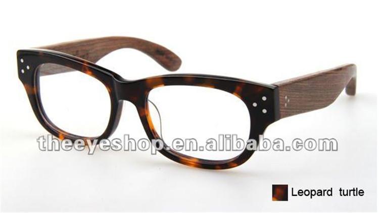 Glasses Frame Temple : 2015 wood eyewear,wood temple vintage glasses frame,retro ...