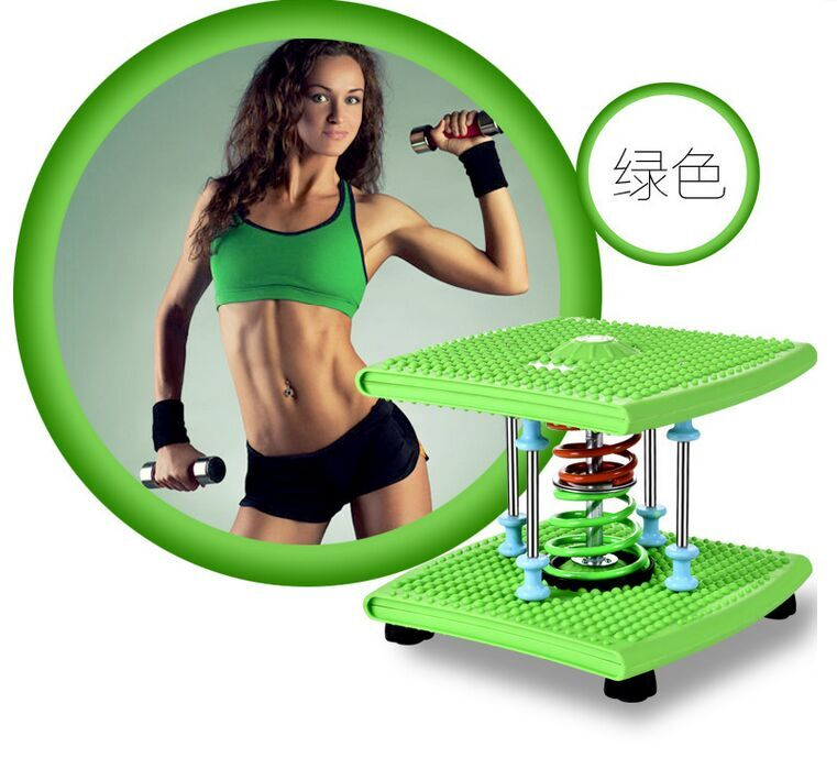 Weight loss body shaping twist machine dancing machine home sports equipment stepper beauty care fitness twist disk(China (Mainland))