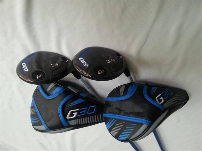"Brand New G 30 Wood Set Driver + Fairways Golf Clubs #3/#5 + 9""/10.5"" Degree Regular/Stiff Graphite Shaft With Head Cover(China (Mainland))"