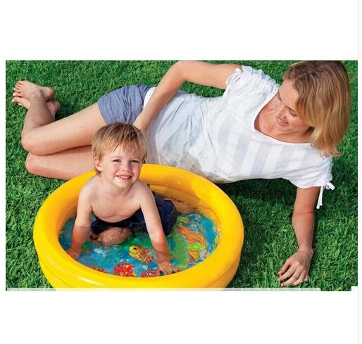 Genuine INTEX 59409 children swimming pool children baby bath my baby inflatable pool(China (Mainland))