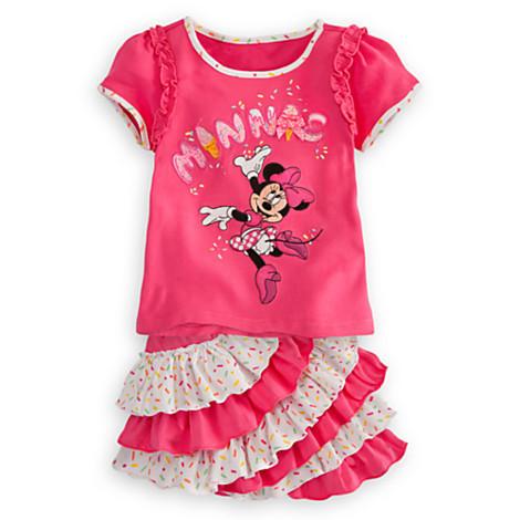2013 summer new baby girl  Minnie Mouse cartoon T-shirt and tutu skirt set children clothing sets pett girl iskirts<br><br>Aliexpress