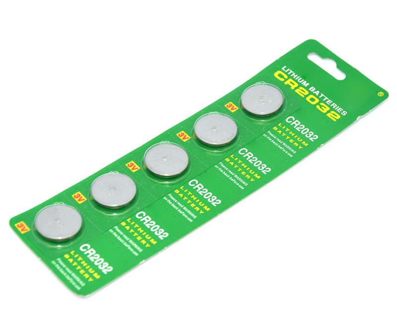 ( / card * 5 ) cr2032 dl2032 cr 2032 3.0 в / 210 мач кнопка секционная литиевая батарея для часов, игрушки и т . д .