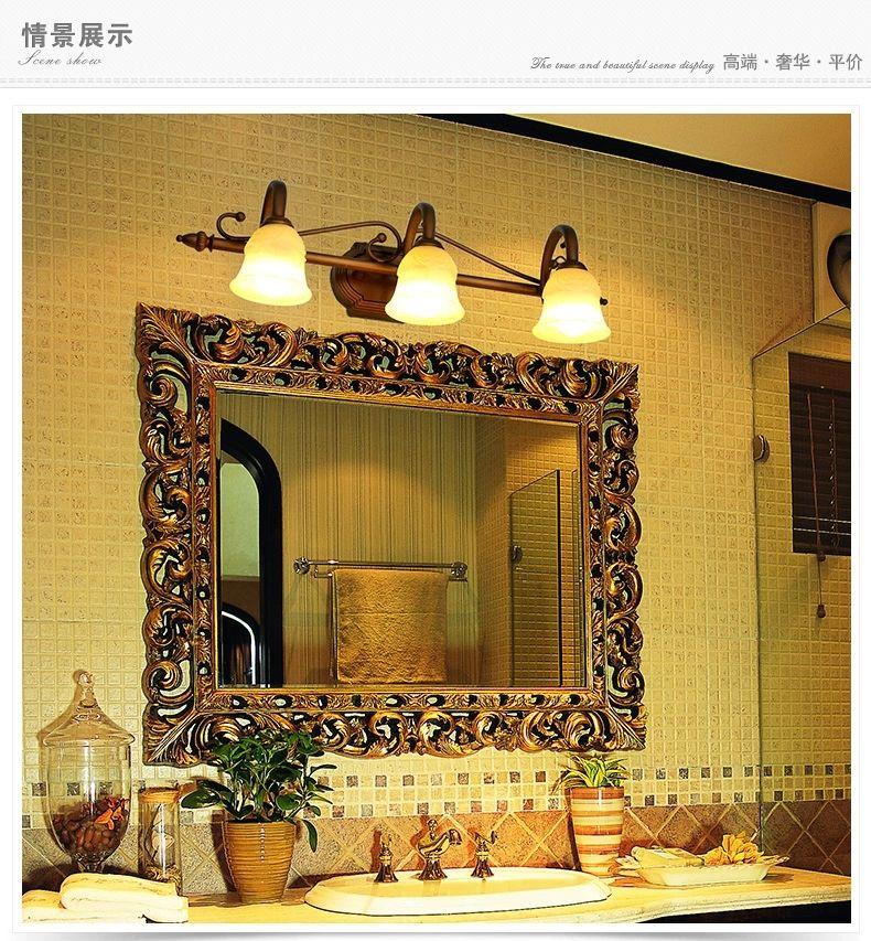 European-LED American mirror front mirror lamp bathroom front lamps mirror bathroom dressing table mirror lighting<br><br>Aliexpress