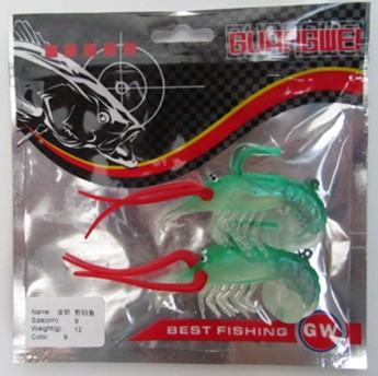Fishing Lure Minnow Soft Lure 8cm/12g pce per 2pce/set Multicolor Fishing Tackle Carp Fishing iscal artificial Carretilha Pesca(China (Mainland))